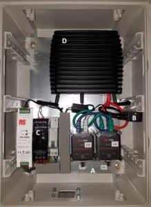 monodaq iepe amplifier acceleration masurement