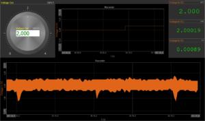 monodaq dewesoft analog measurement