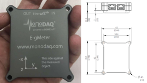 Bridge monitoring MEMS EtherCAT MonoDAQ